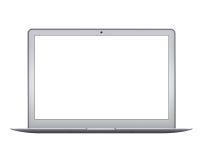 Modelo do laptop do ar de Apple MacBook Fotografia de Stock