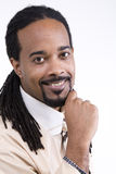 Modelo do macho do americano africano Fotos de Stock Royalty Free