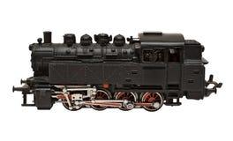 Modelo do motor de vapor com trajeto (vista lateral) Fotos de Stock