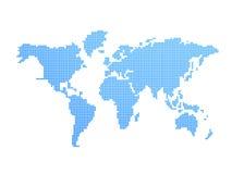 Modelo do mundo Imagem de Stock