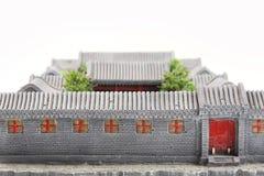 Modelo do pátio de China Fotografia de Stock Royalty Free
