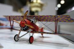 Modelo do plano WW1 Fotografia de Stock Royalty Free