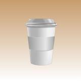 Modelo do produto do café Ilustração Stock