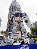 Modelo do robô de Gundam Foto de Stock