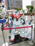 Modelo do robô de Gundam Imagem de Stock