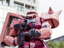 Modelo do robô de Gundam Fotografia de Stock Royalty Free