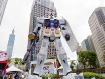 Modelo do robô de Gundam Fotos de Stock Royalty Free