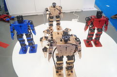 Modelo do robô Imagem de Stock Royalty Free