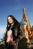Modelo do russo Imagem de Stock