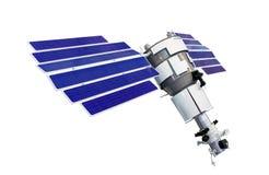 Modelo do satélite de telecomunicação Imagens de Stock Royalty Free