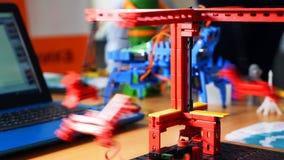 Modelo do simulador da robótica controlado por computador imagem de stock royalty free