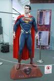 Modelo do superman imagens de stock