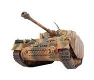 Modelo do tanque de Pz-IV Fotos de Stock