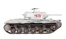 Modelo do tanque KV-1 Fotografia de Stock