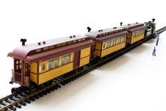 Modelo do trem Imagem de Stock Royalty Free