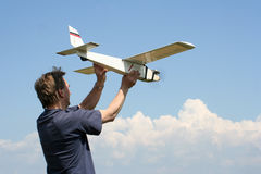 Modelo do vôo Fotos de Stock
