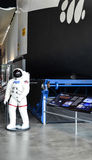 Modelo do vaivém espacial de Colômbia Foto de Stock