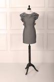 Modelo do vestido em um manequim fêmea Imagens de Stock