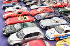Modelo dos carros do brinquedo do vintage Foto de Stock Royalty Free