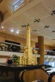 Modelo dos tijolos da torre de água histórica Imagem de Stock