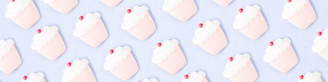 Modelo dulce de las galletas Fotos de archivo libres de regalías
