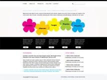 Modelo Editable del Web site libre illustration