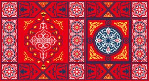 Modelo egipcio 2-Red de la tela de la tienda Foto de archivo libre de regalías