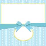 Modelo en blanco para la tarjeta de felicitaciones Imagenes de archivo