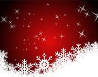 Modelo en blanco para la tarjeta de felicitaciones de la Navidad Imagenes de archivo