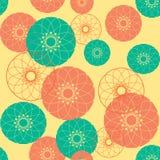 Modelo en colores retros Fotos de archivo libres de regalías