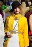 Modelo en el festival anual de la belleza Fotos de archivo libres de regalías