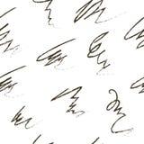 Modelo escandinavo blanco y negro, rayas caóticas abstractas Imagen de archivo libre de regalías