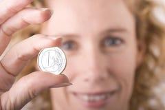 Modelo euro fotos de archivo