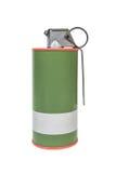 Modelo explosivo rojo del humo M18, ejército del arma, fusible sincronizado estándar h Imágenes de archivo libres de regalías