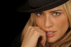 Modelo fêmea Fotos de Stock Royalty Free