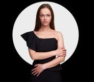 Modelo fêmea bonito fotografia de stock royalty free