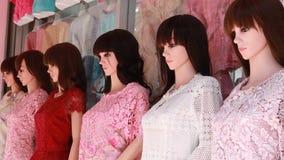 For modelo fêmea o vestuário foto de stock