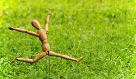 Modelo feliz do artista Imagem de Stock