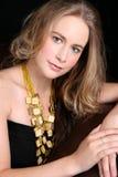 Modelo femenino Foto de archivo libre de regalías