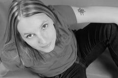 Modelo femenino imagenes de archivo