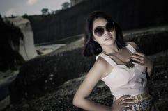 Modelo femenino asiático joven. Foto de archivo libre de regalías