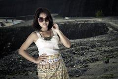 Modelo femenino asiático joven. Imágenes de archivo libres de regalías