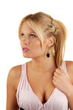 Modelo femenino atractivo Imagen de archivo libre de regalías