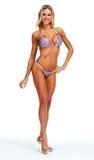 Modelo femenino de la aptitud en bikini Foto de archivo libre de regalías