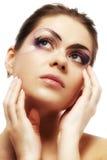 Modelo femenino hermoso Imagen de archivo libre de regalías