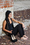 Modelo femenino joven Imágenes de archivo libres de regalías