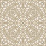 Modelo fino abstracto geométrico beige ilustración del vector