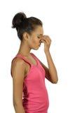 Modelo flaco rosado del desi Fotos de archivo