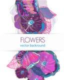Modelo floral Fotos de archivo
