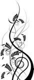 Modelo floral. ilustración del vector
